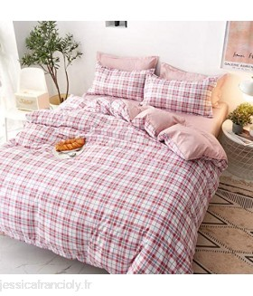 BECCYYLY Single Duvet Cover Set Cartoon Style Four Piece Single Dormitory Bed Sheet Quilt Cover Small Fresh Bedding Three Piece Set Kawaii Bedding